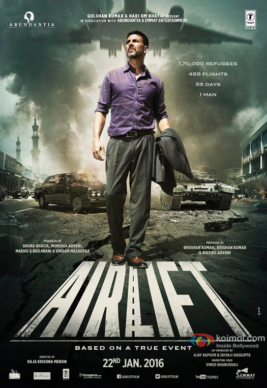 Best Poster - Airlift