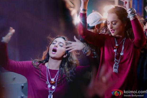 Catch Sonakshi Sinha's Drunk Antics In Gulabi Aankhen Song From Noor!