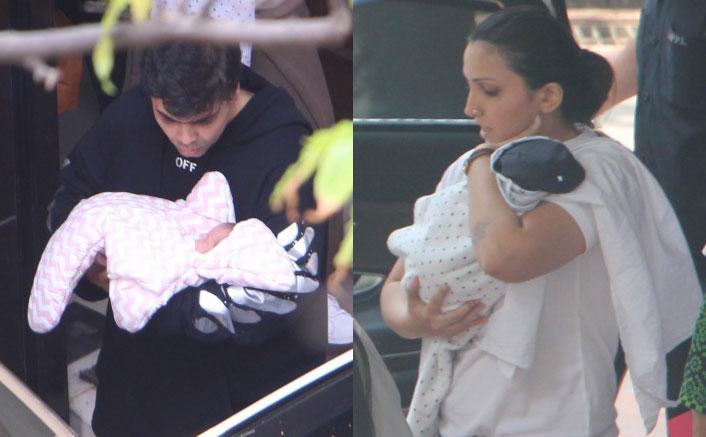 EXCLUSIVE Karan Johar with babies