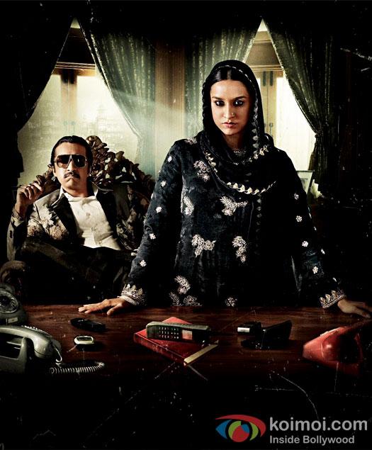 Haseena New Poster: Shraddha As Haseena Parker, Siddhanth Kapoor As Dawood Ibrahim