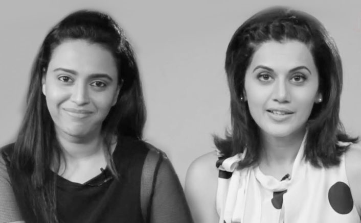 If you have it, flaunt it! Be proud of your cleavage ladies! : Swara Bhaskar & Taapsee