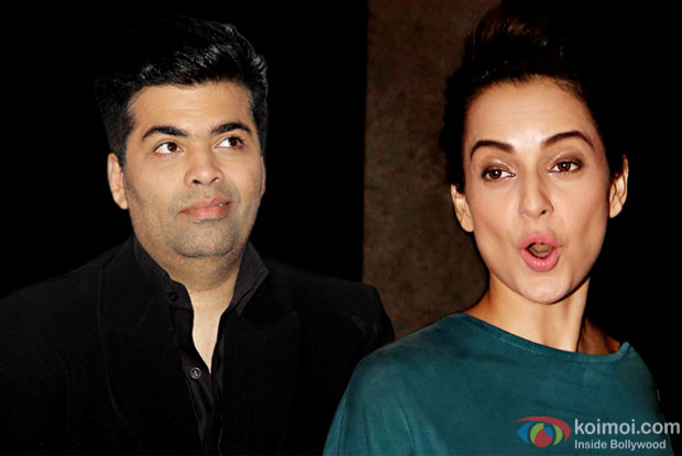 This Nepotism Rant Isn't Ending Any Soon! Karan Johar Now Hits Kangana Ranaut's Old Wound!