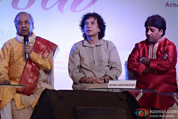 Pt. Birju Maharaj, Ustad Zakir Hussain, Ustad Rashid Khan