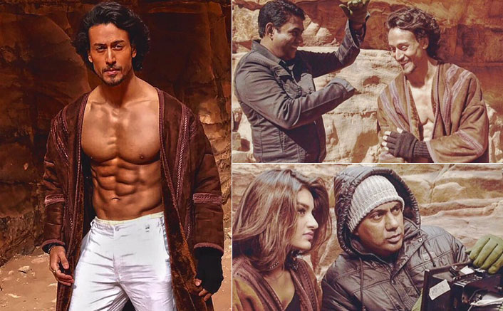 Tiger Shroff, Niddhi Aggerwal Snapped On The Sets Of Munna Michael