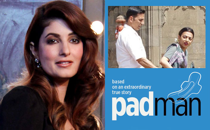 'Pad Man' spreads awareness about 'shamed' subject, says Twinkle Khanna