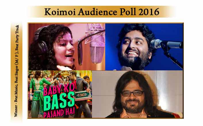Thank you for voting! Here are the results of Koimoi Audience poll: Best Music, Best Singer (Male & Female), Best Party Track