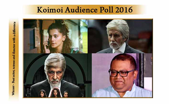 Thank you for voting! Here are the results of Koimoi Audience poll: Best actor, actress and director with a difference