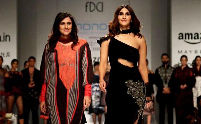 Vaani Kapoor turns showstopper for Rina Dhaka's Dark Romanticism