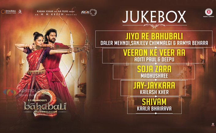 Bahubali 2 The Conclusion - Full Movie Audio Jukebox | Prabhas & Anushka Shetty | M.M.Kreem