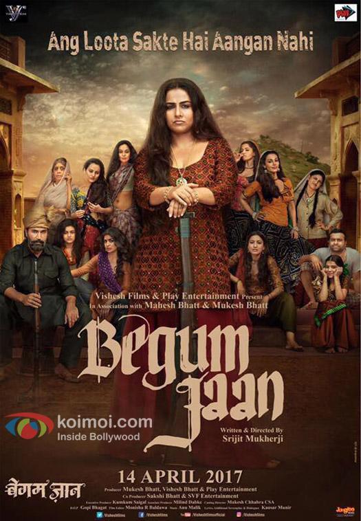 Begum Jaan Poster