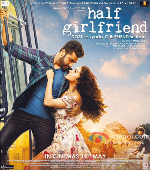 Half Girlfriend's New Poster | Featuring Arjun Kapoor & Shraddha Kapoor