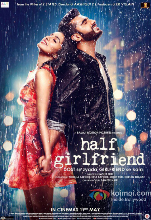 Here is a new poster from Arjun Kapoor & Shraddha Kapoor starrer Half Girlfriend!