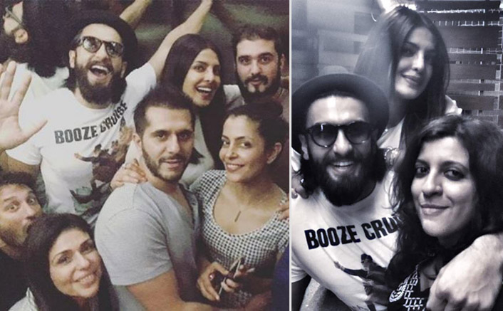 Priyanka, Ranveer, Zoya Enjoys Mini Dil Dhadakne Do Reunion