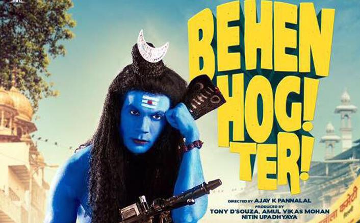 Rajkummar Rao's Shiva avatar for 'Behen Hogi Teri' poster