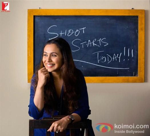 Rani Mukerji Kickstarts Shooting For Hichki!