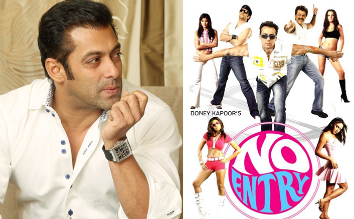 Salman Khan will be seen in a double role in No Entry Mein Entry