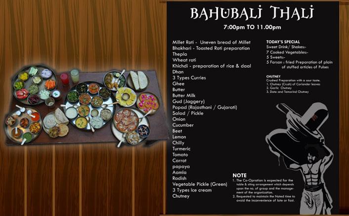 A thali gets named after Baahubali