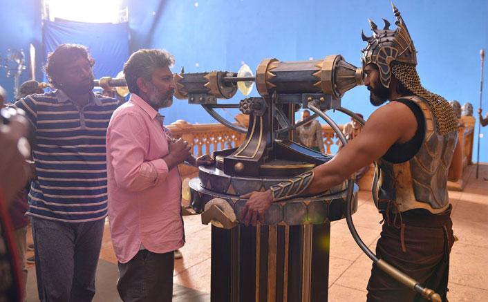 Baahubali 2: Rana Daggubati Aka Bhalladeva Shares Behind The Scenes Pictures!