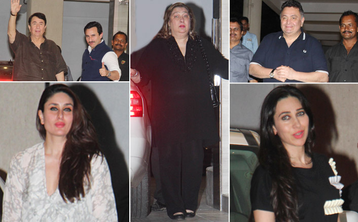 babita kapoor birthday party