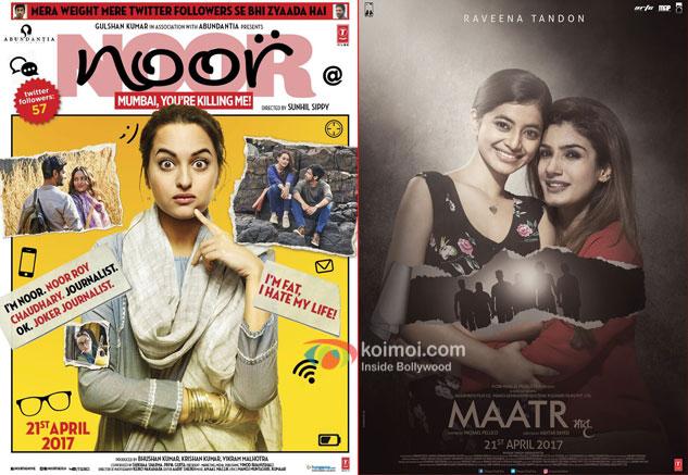 Box Office Predictions - Sonakshi's Noor and Raveena's Maatr