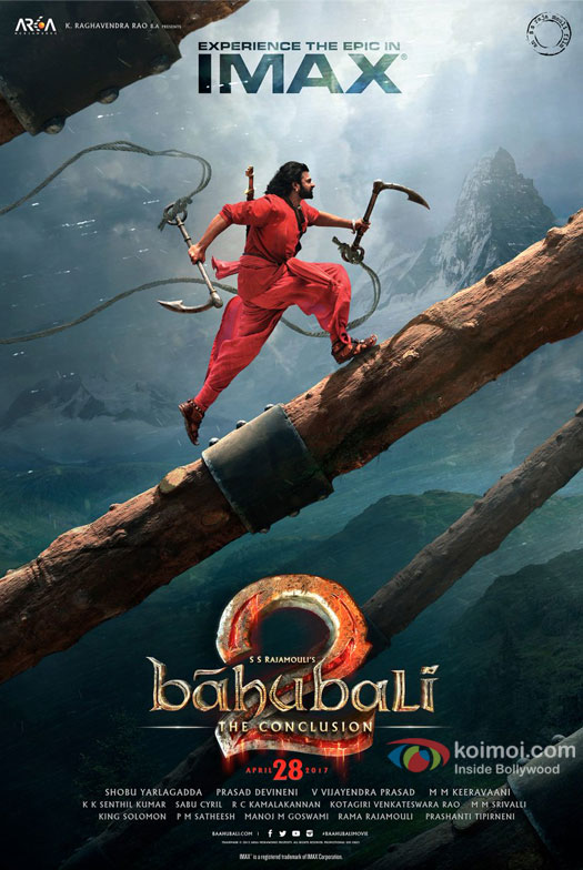 Baahubali 2: The Conclusion IMAX Poster Unveiled