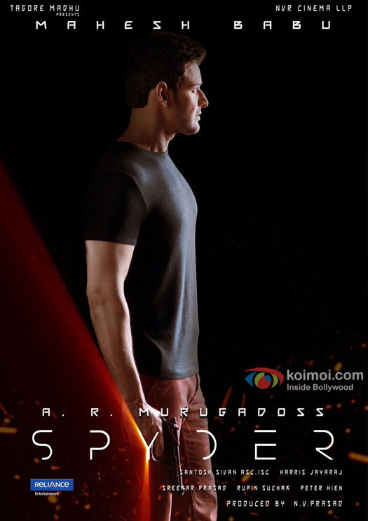 Mahesh Babu's Spyder First Look Poster & Motion Poster Out