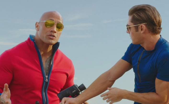 Check Out The Hindi Trailer Of Baywatch | Ft. Priyanka, Dwayne & Zac Efron