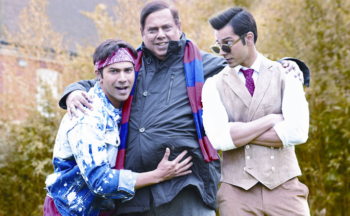 David Dhawan celebrates son Varun Dhawan's birthday with a twist!