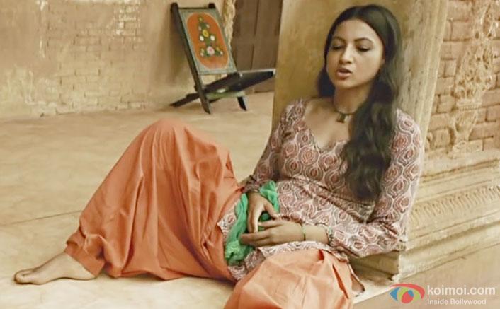 Gauhar Khan in a still from Begum Jaan