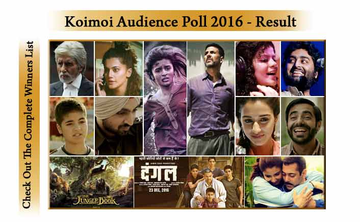 Koimoi Audience Poll 2016: Check Out The Complete Winners List