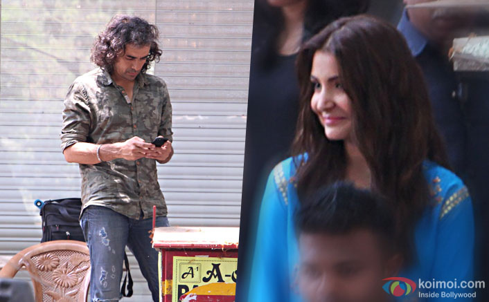 Pictures: Anushka Sharma Shoots For Imtiaz Ali's Next In Mumbai Without SRK