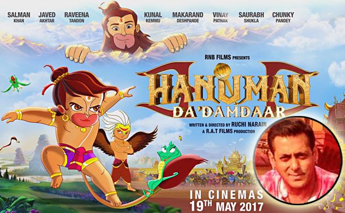 Salman Khan Is Lord Hanuman's Voice In New Animation Flick, Hanuman Da Damdaar