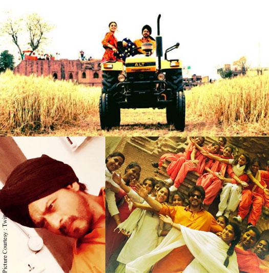 Pictures: Shah Rukh Khan & Anushka Sharma On The Sets Of The Ring In Punjab