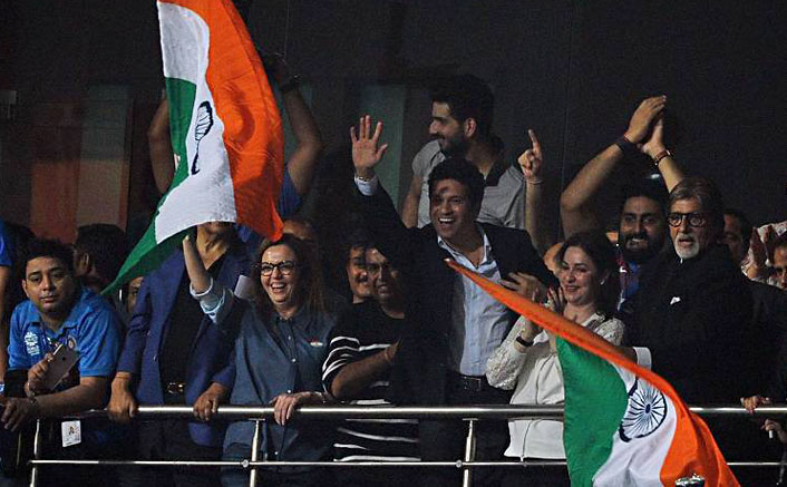 The cricket audience from Big B's eyes