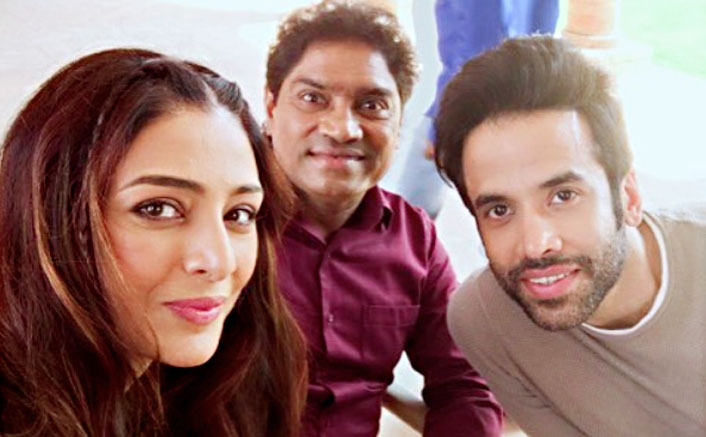 Treat To Work With Tusshar, Johnny Lever, Says Tabu