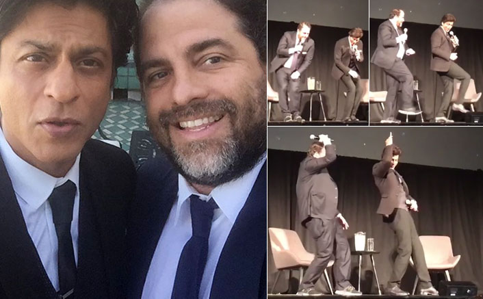Watch SRK Teaches 'Lungi Dance' To Rush Hour Director Brett Ratner