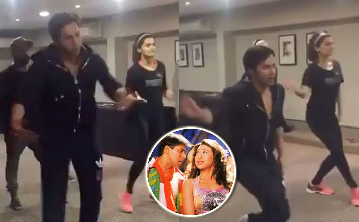 Watch : Varun Dhawan and Taapsee Pannu rehearsing 'Oonchi Hai Building' song for Judwaa 2