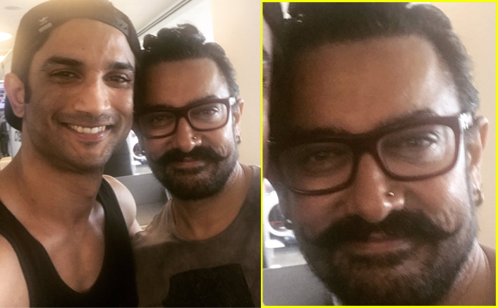 After going almost nude, Aamir Khan gets his nose pierced for his next? View pic