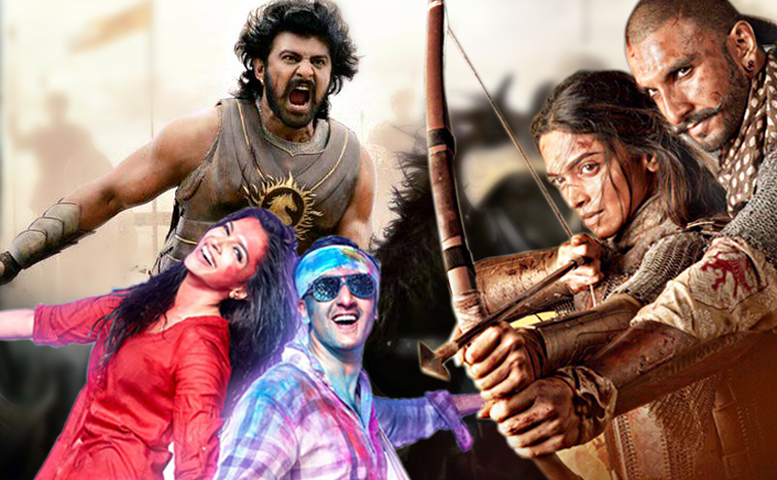 Box Office - Baahubali 2 [Hindi] goes past lifetime total of YJHD and Bajirao Mastani in just 5 days