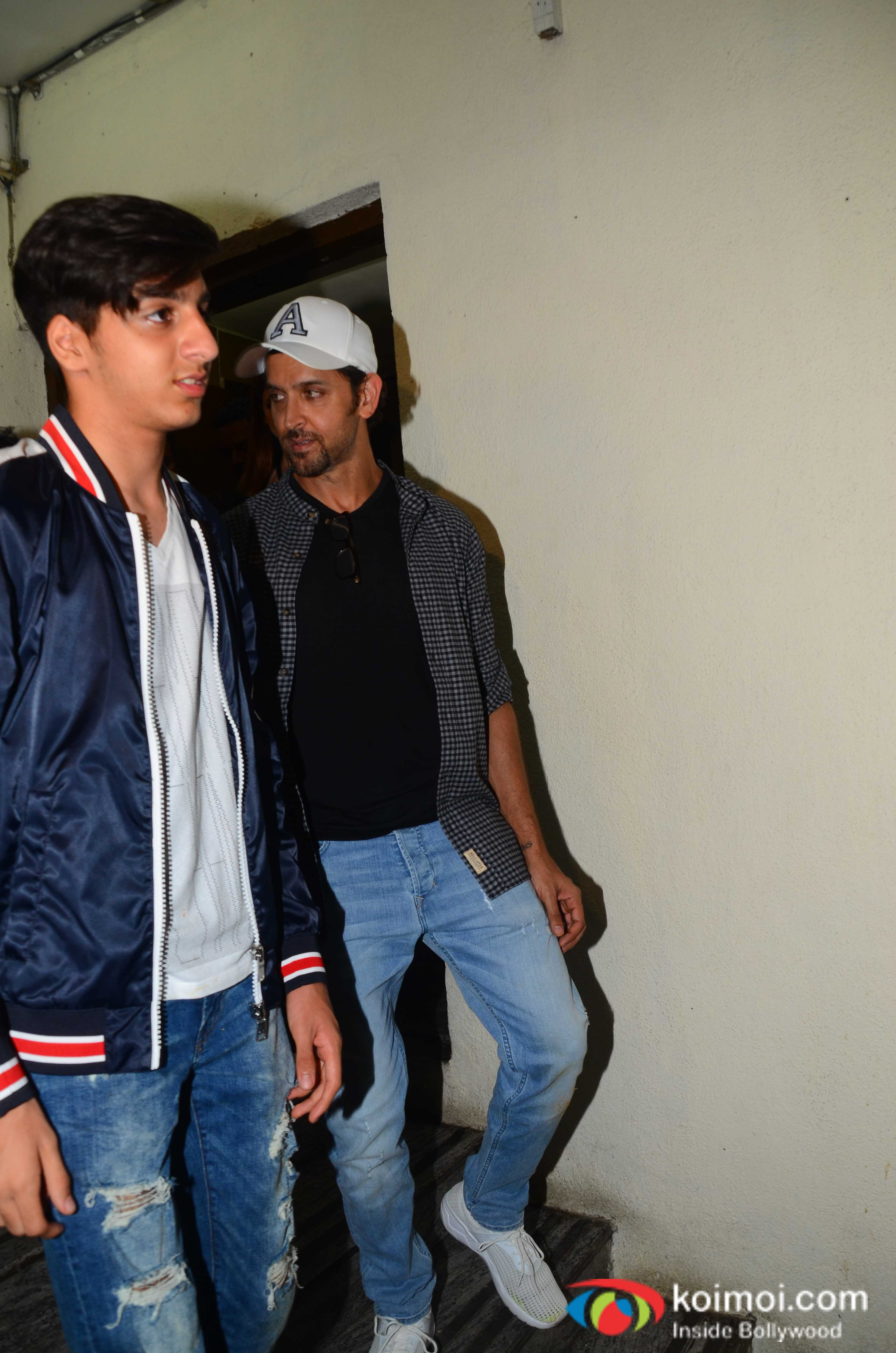 Spotted: Hrithik Roshan & Sussanne Khan Enjoy A Movie Outing