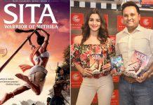 Amish and Alia Bhatt launch the trailer of 'Sita - Warrior of Mithila'