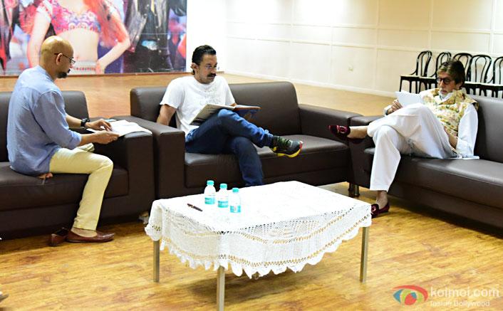 Photo Alert! Big B & Aamir Khan Start Prepping For Thugs Of Hindostan