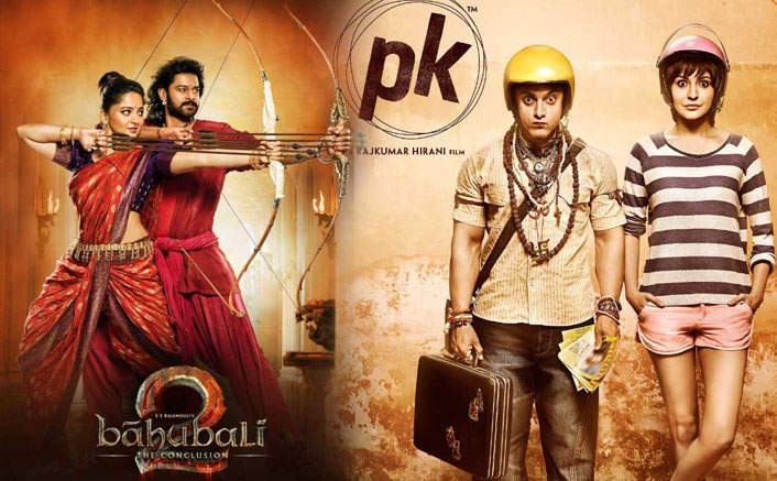 Box Office - Baahubali 2 [Hindi] opens 400 Crore Club just 40 months after PK opened the 300 Crore Club