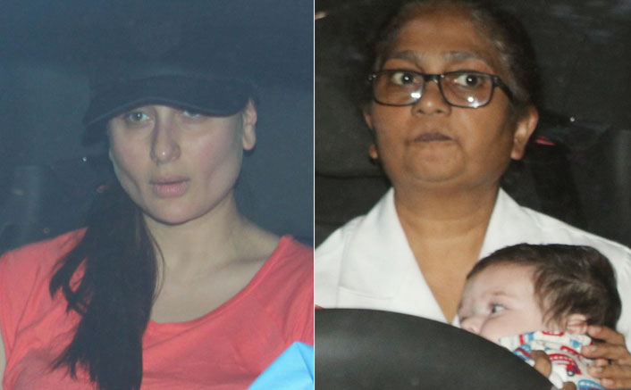 Check Out! Baby Boy Taimur Ali Khan's Outing With Mommy Kareena Kapoor Khan