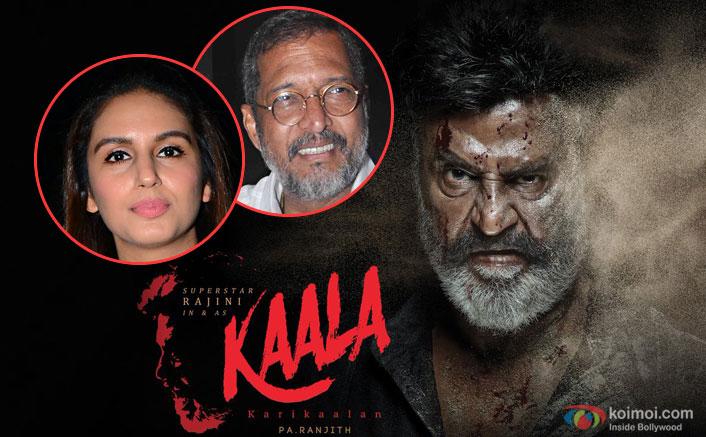 Huma Qureshi and Nana Patekar Join Rajinikanth's Kaala Karikaalan Cast