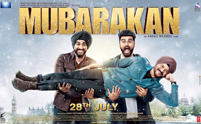 Mubarakan 1st Look Poster | Ft. Arjun Kapoor & Anil Kapoor