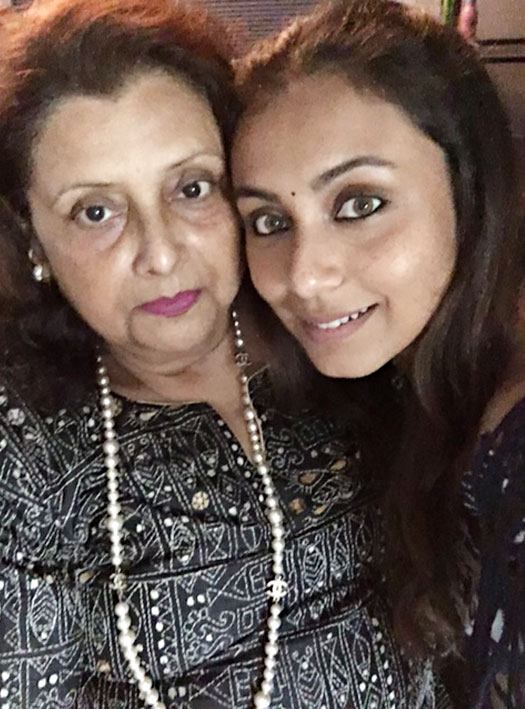 Rani Spends Quality Time with Mom on Mother's Day