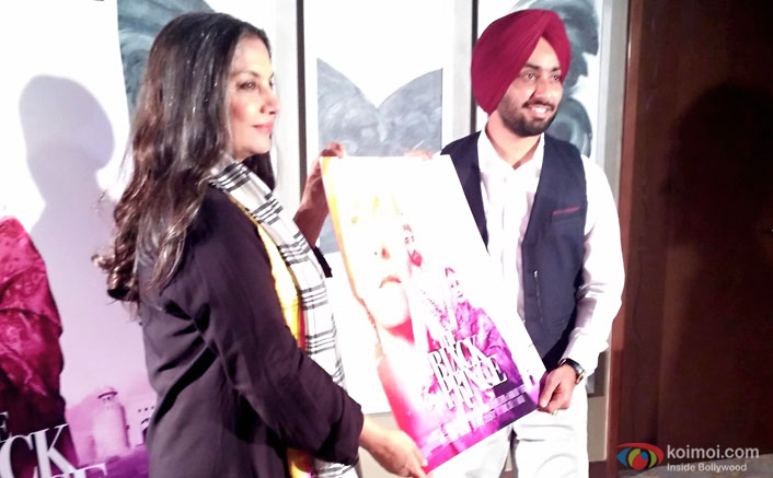 Shabana Azmi Promotiing The Black Prince