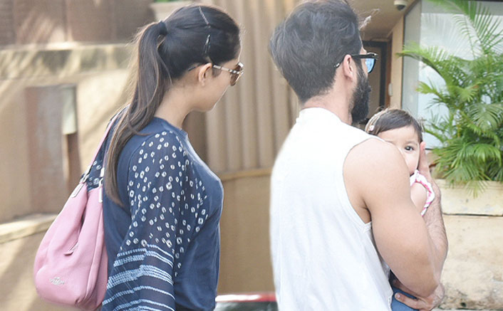 Shahid Kapoor & Mira Rajput Snapped Post Returning Home