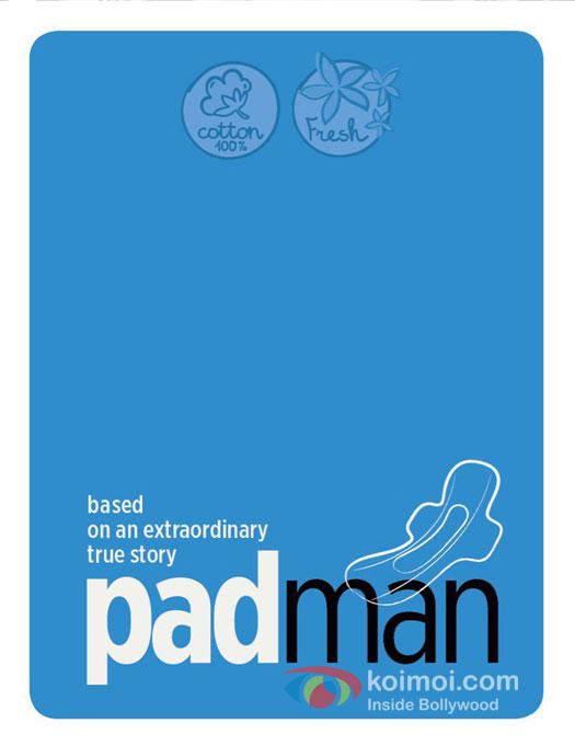 Akshay Kumar's upcoming movie Padman Poster